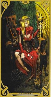 L'Imperatrice, dai tarocchi Night Sun
